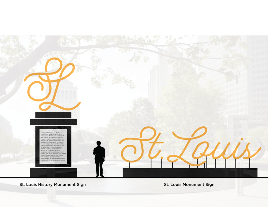 St Louis Signage System Draft 3-03-03